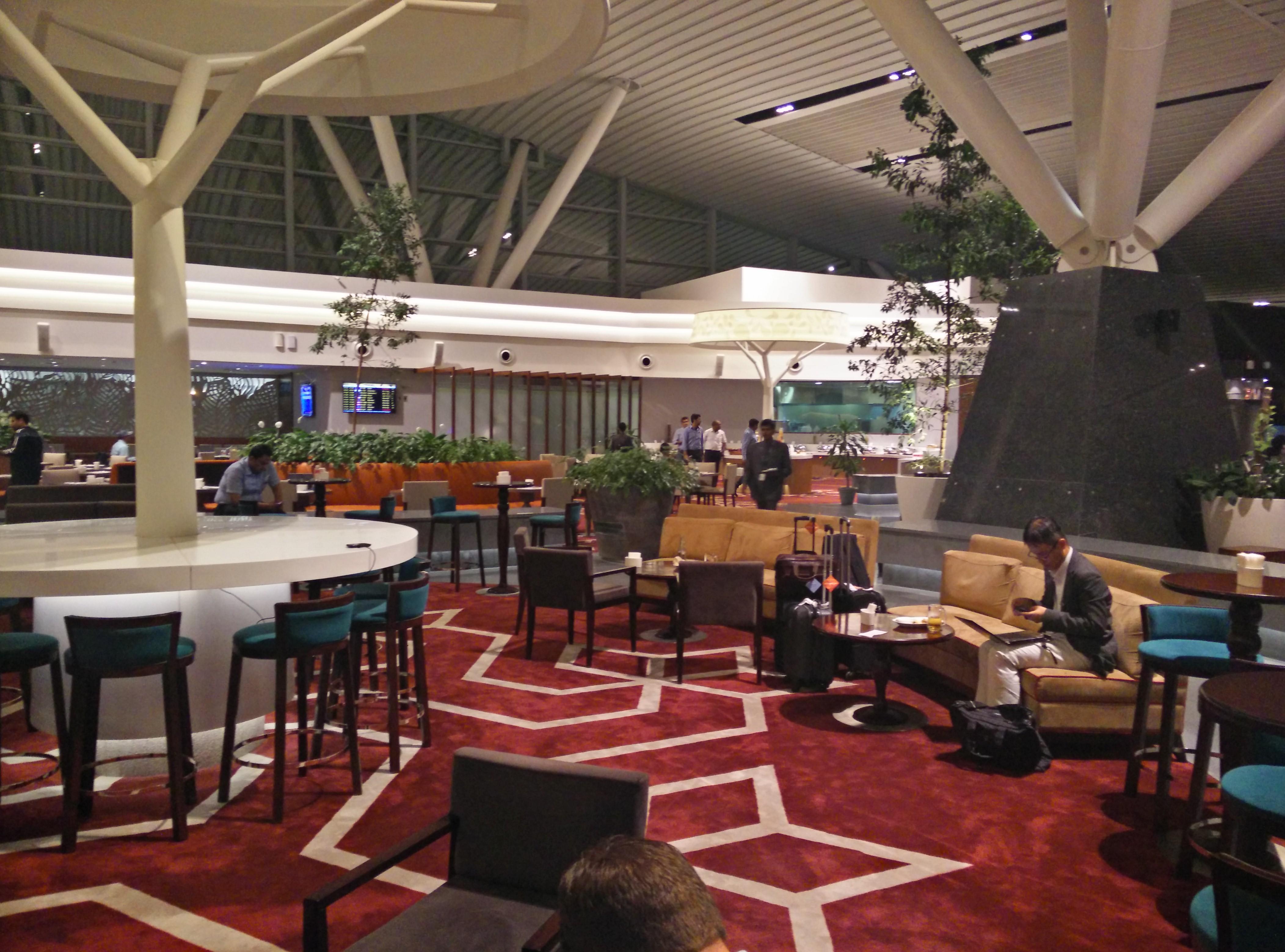 Above Ground Level Lounge ambiance
