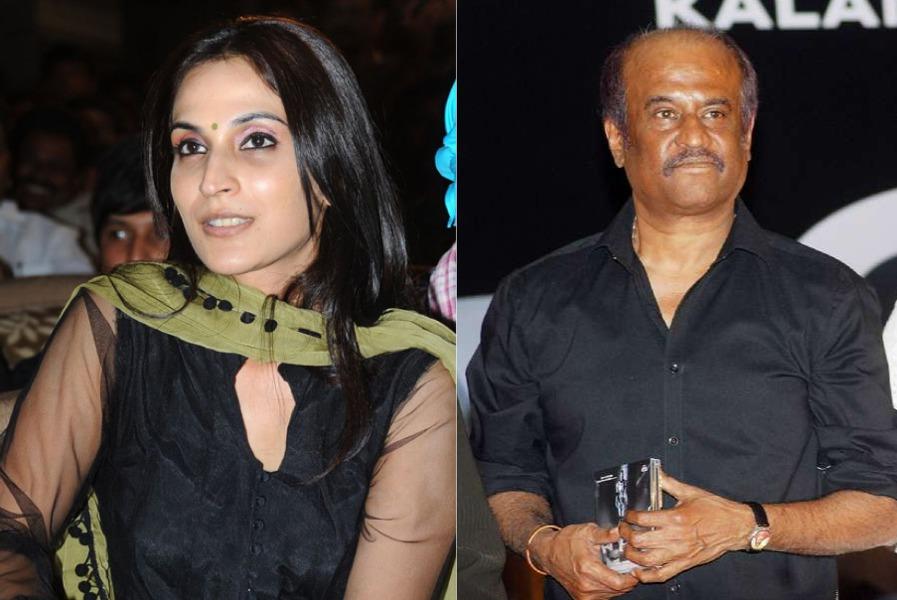 rajinikanth and aishwarya r dhanush