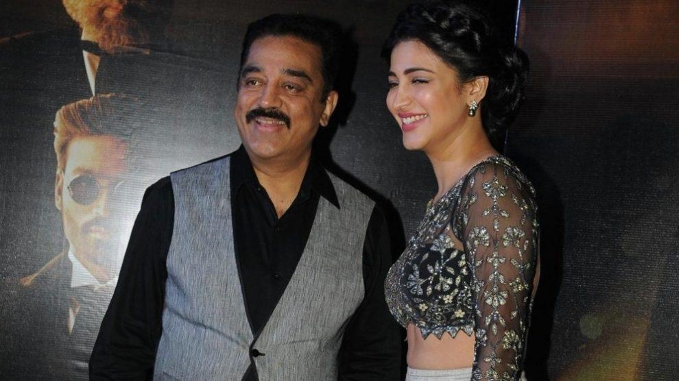 Kamal Hassan and Shruti Hassan