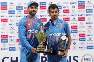 Team India Yuzvendra chahal virat kohli