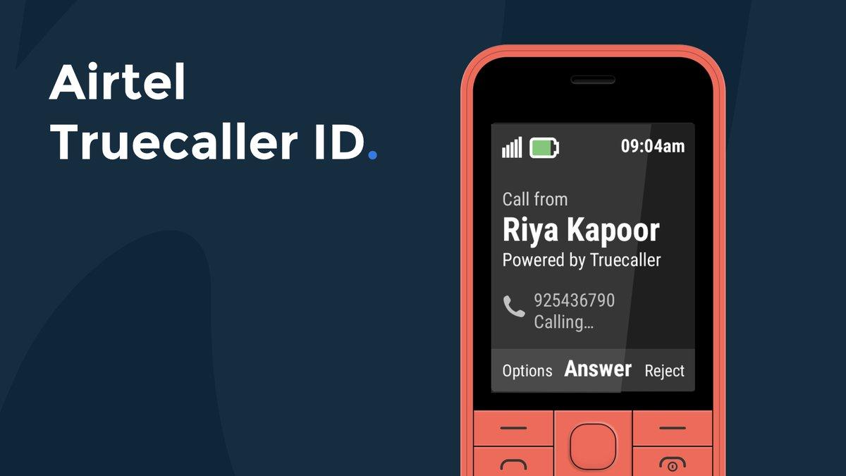 Airtel Truecaller ID