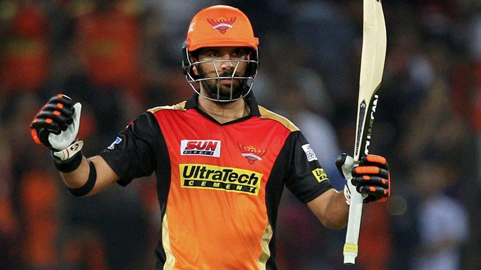 Yuvraj Singh SRH vs RCB