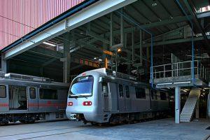 Jaipur-Metro-At-Mansarovar-Depot