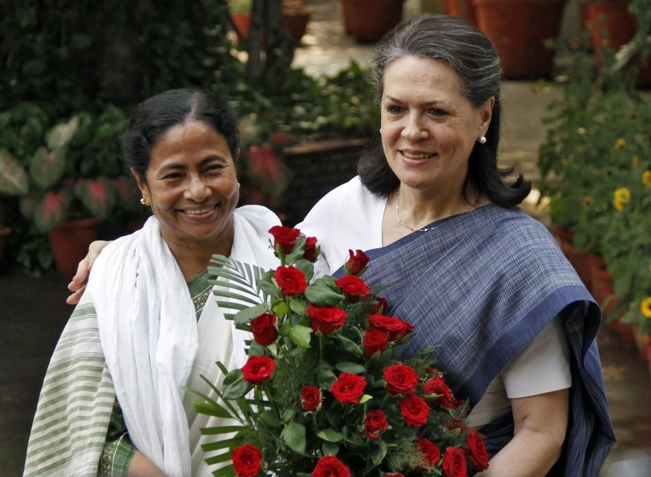 Mamata Banerjee Sonia Gandhi