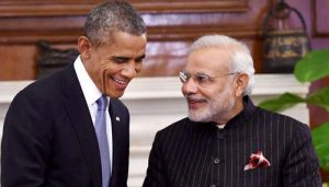 Narendra Modi and Barack Obama