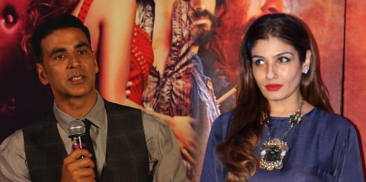 Akshay and raveena reunite for a reality show