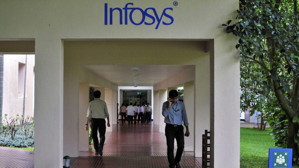 Infosys Q1 profit falls 3.3% qoq to Rs 34.83 bn