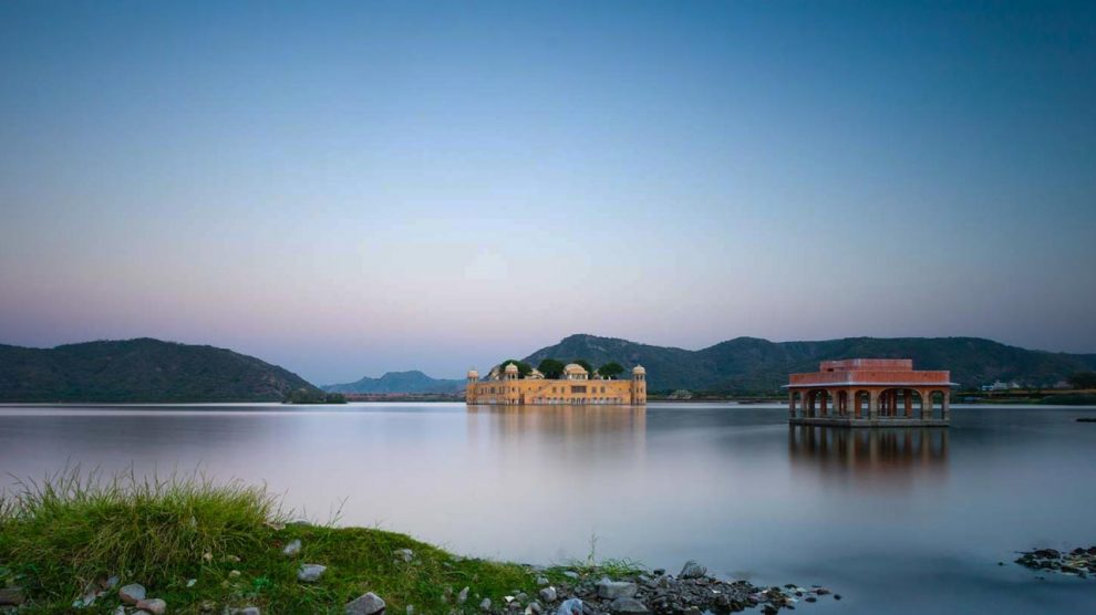 A view of Jal Mahal