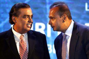 Mukesh Ambani & Anil Ambani