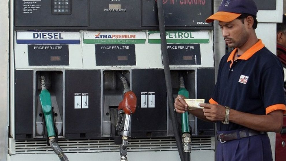 Petrol prices increased by Rs2.98 per litre