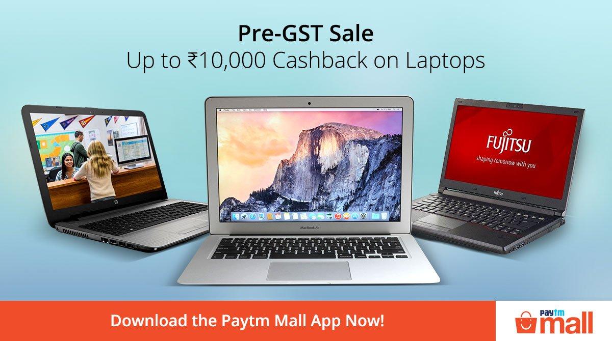 Pre- GST sale, Paytm