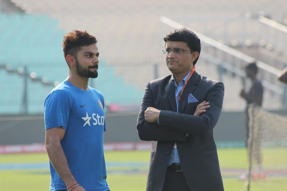 Kohli and Ganguly