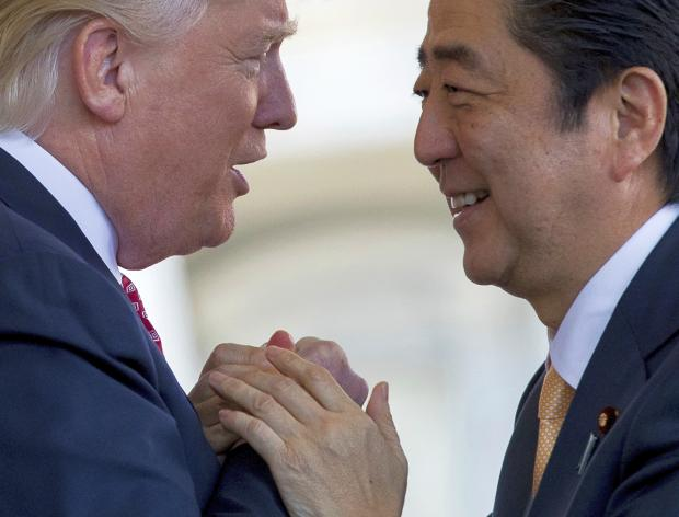 Increasing friendly relations between US and Japan