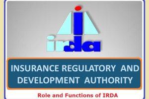 Insurance Regulatory & Development Authority (IRDA)