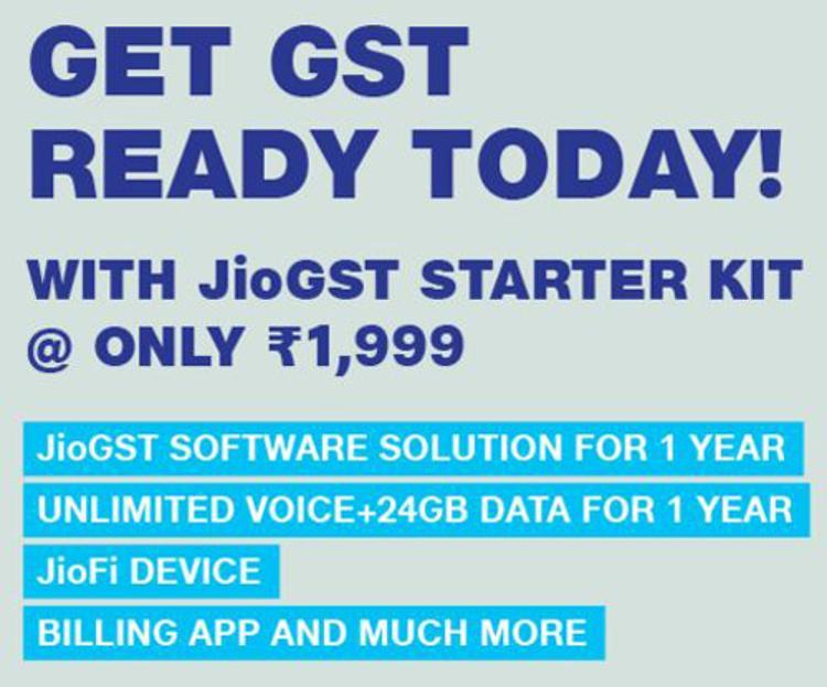 JioGST Starter Kit