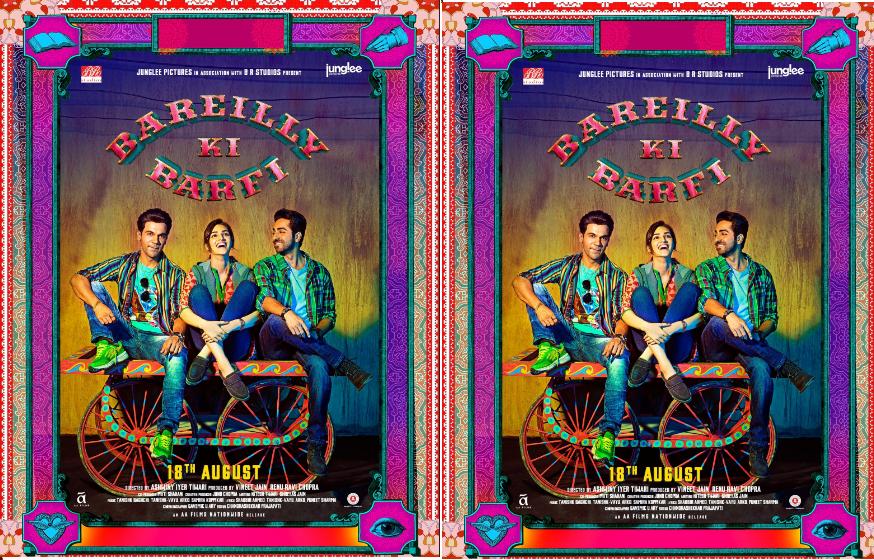 Bareilly Ki Barfi trailer: Ayushmann Khurrana and Rajkummar Rao compete for Kriti Sanon's love. Watch video!