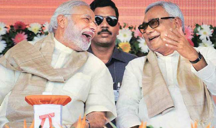 BJPs gain with Nitish Kumar