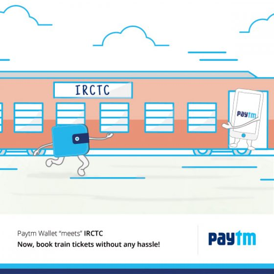 Paytm Rail Booking