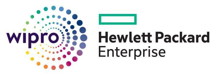 Wipro- Hewlett Packard Enterprise(HPE)