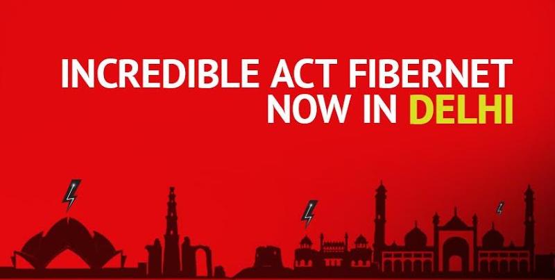 ACT fibernet Delhi