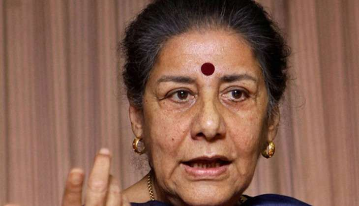 No question of resigning: Ambika Soni