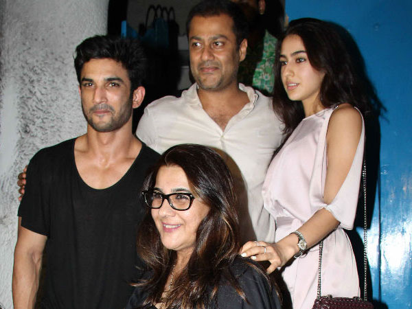 Sara Ali Khan's B'wood debut: Kedarnath