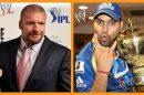 Rohit Sharma and Triple H