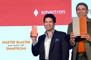 Smartron and Sachin Tendulkar