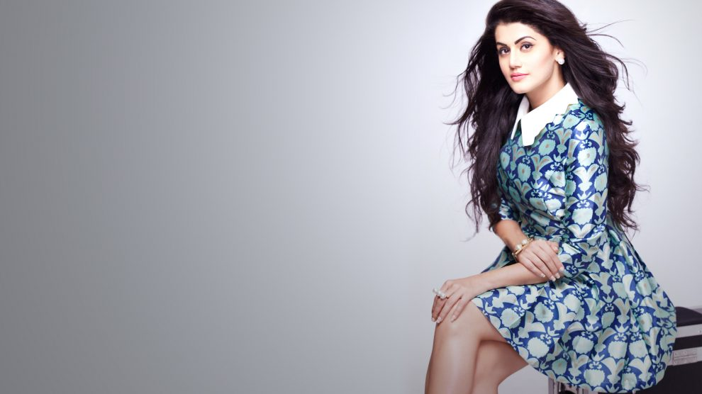 Taapsee Pannu excited to work with Salman in 'Judwaa 2'!