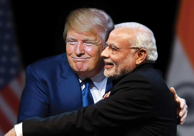 US and India are in support of eachother