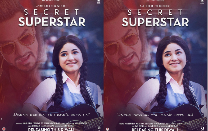 Secret Superstar Trailer Featuring Aamir, Zaira Is Out & It's awesome