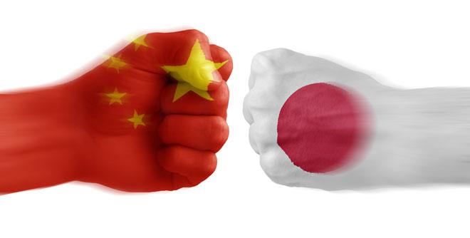 war between Japan and China