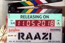 Karan Johar reveals release date of Alia Bhatt, Vicky Kaushal's 'Raazi'!