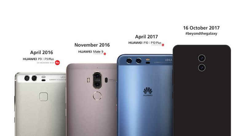 Huawei Mate 10 Teaser wants to Look Beyond the 'Galaxy'