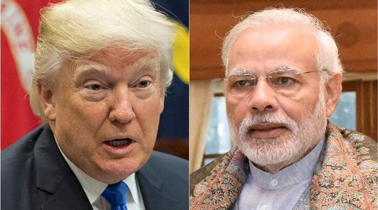 Modi and Trump having good relations