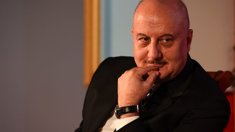 Censor board shouldn't act as villain for films: Anupam Kher!