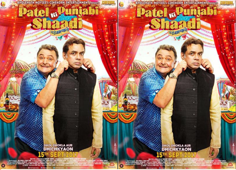 First Poster Of Patel Ki Punjabi Shaadi Starring Rishi Kapoor & Paresh Rawal Is Out!