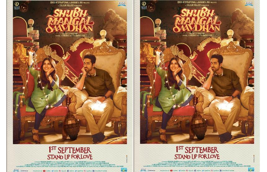 Nothing vulgar in 'Shubh Mangal Saavdhan', says director RS Prasanna!