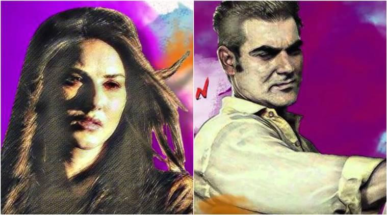 Tera Intezaar teaser: Arbaaz Khan is the artist in this colourful Sunny Leone starrer!