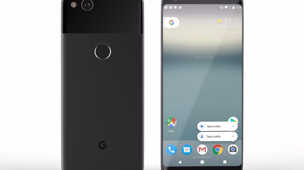 Google may release its next Pixel smartphones on October 5