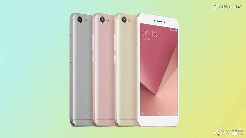 Redmi Note 5A teased on Weibo may launch today