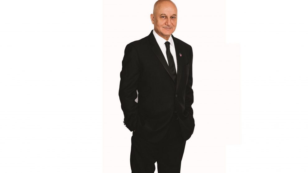 Won't just be an administrator, says Anupam Kher!