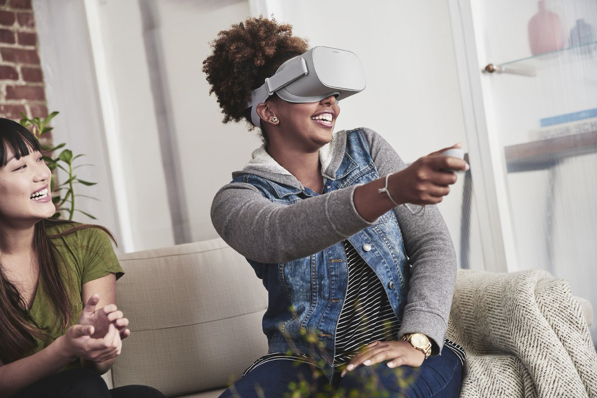 Facebook Pushes Deeper Into VR With Oculus Go Wireless Headset