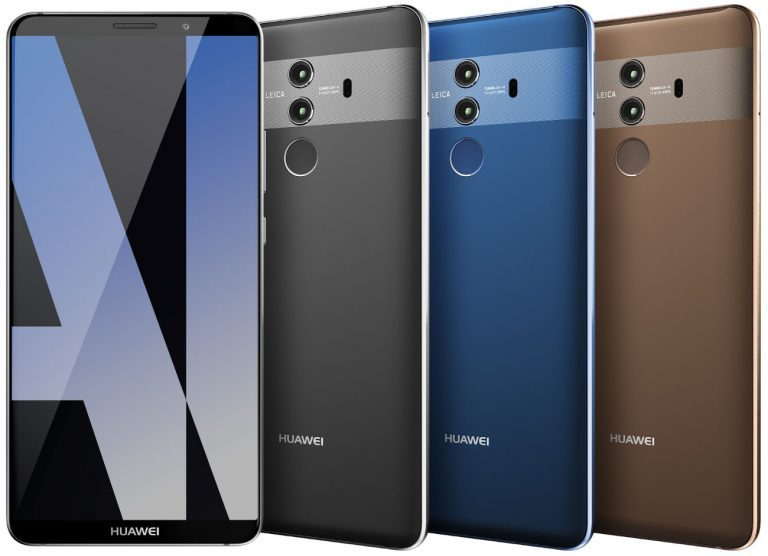 Huawei Mate 10 Pro renders leaked ahead of October 16 launch