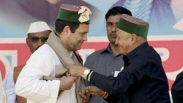 Virbhadra dares BJP to announce CM candidate for HP polls