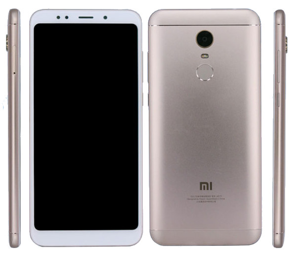 Xiaomi Redmi Note 5 to feature 5.99-inch display with thin bezels