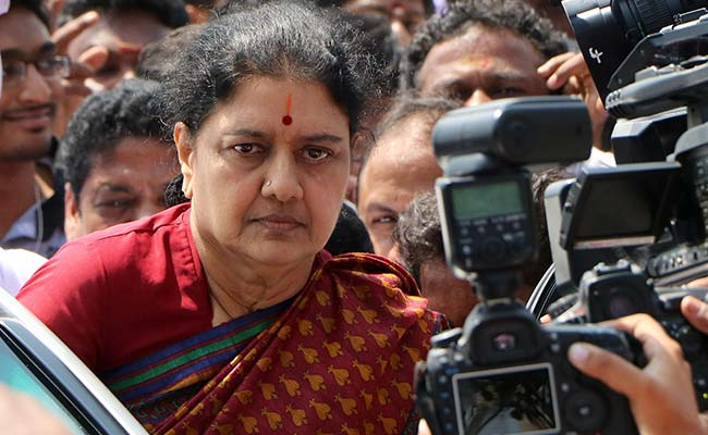 TN: Sasikala granted 5-day parole to meet ailing husband