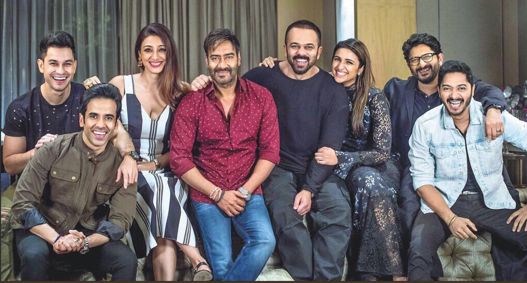 Box office collection of the movie 'Golmaal Again' has reached to Rs 201 crore!