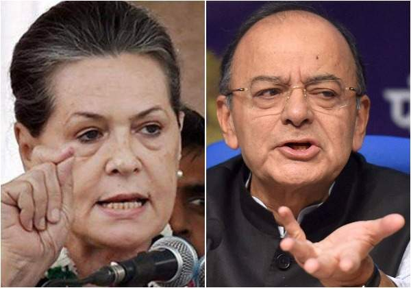 FM Arun Jaitley refutes Sonia Gandhi's charge in Parliament session