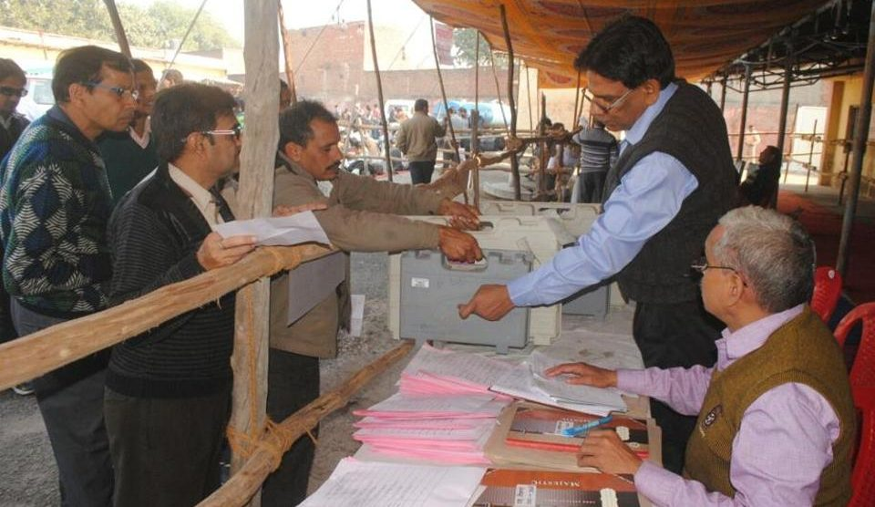 Voting underway for civic polls phase 1 in Uttar Pradesh